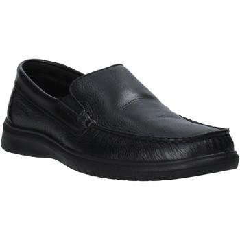 Cipők Férfi Mokkaszínek Enval 7213000 Fekete