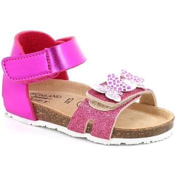 Cipők Lány Szandálok / Saruk Grunland SB1716 Rózsaszín
