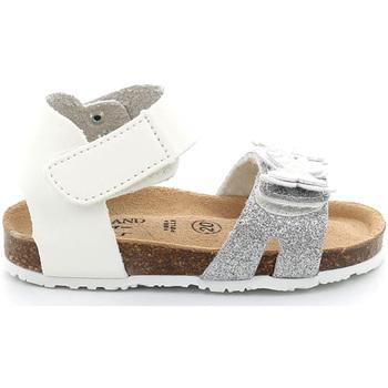 Cipők Lány Szandálok / Saruk Grunland SB1716 Fehér