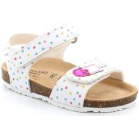 Cipők Lány Szandálok / Saruk Grunland SB1719 Fehér