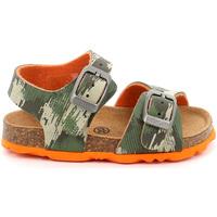 Cipők Gyerek Szandálok / Saruk Grunland SB0386 Zöld