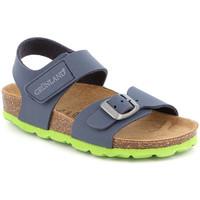 Cipők Gyerek Szandálok / Saruk Grunland SB0234 Kék