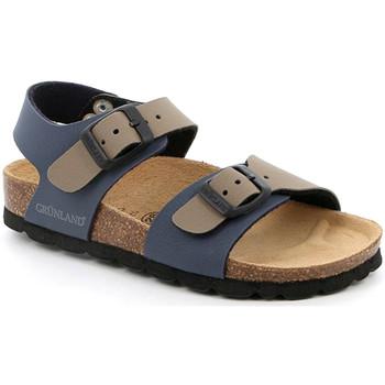 Cipők Gyerek Szandálok / Saruk Grunland SB0901 Kék