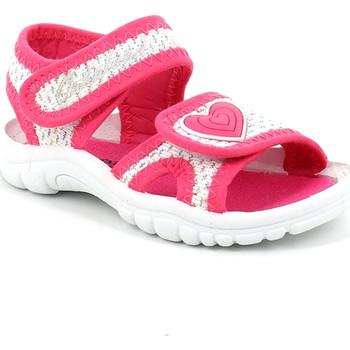 Cipők Lány Szandálok / Saruk Grunland PS0060 Rózsaszín