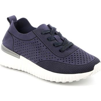 Cipők Női Rövid szárú edzőcipők Grunland SC4906 Kék