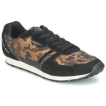 Cipők Női Rövid szárú edzőcipők Diesel CAMOUFLAGE Barna