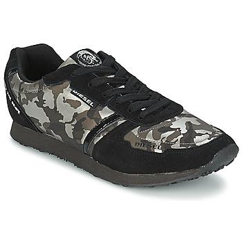 Cipők Női Rövid szárú edzőcipők Diesel CAMOUFLAGE Fekete