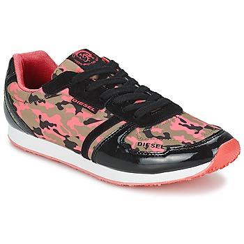 Cipők Női Rövid szárú edzőcipők Diesel CAMOUFLAGE Álcáz