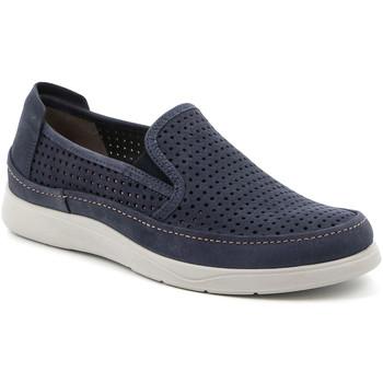Cipők Férfi Belebújós cipők Grunland SC5196 Kék