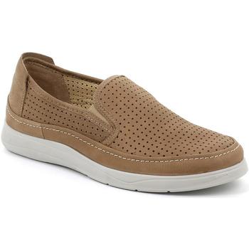 Cipők Férfi Belebújós cipők Grunland SC5196 Barna