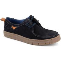 Cipők Férfi Mokkaszínek Grunland SC5034 Kék