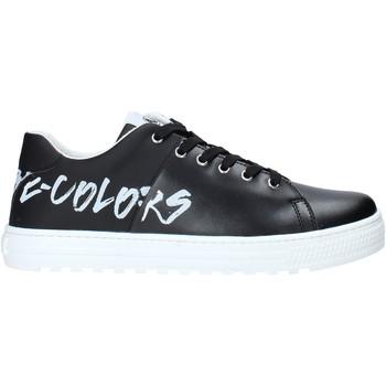 Cipők Gyerek Rövid szárú edzőcipők Naturino 2014918 01 Fekete