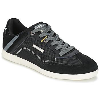Cipők Férfi Rövid szárú edzőcipők Diesel Basket Diesel Fekete