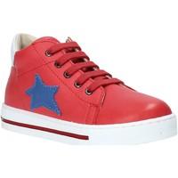 Cipők Gyerek Magas szárú edzőcipők Falcotto 2014607 01 Piros