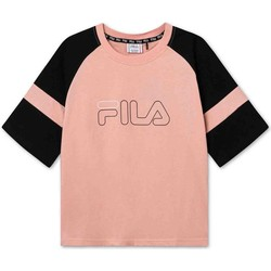 Ruhák Gyerek Rövid ujjú pólók Fila 683330 Rózsaszín