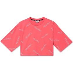 Ruhák Lány Rövid ujjú pólók Fila 683349 Rózsaszín