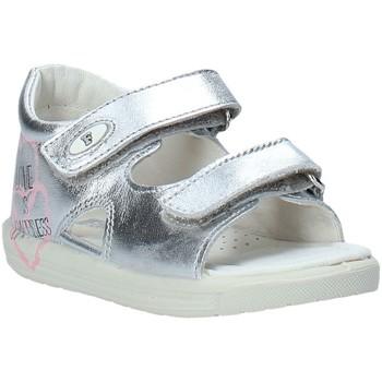 Cipők Lány Szandálok / Saruk Falcotto 1500781 02 Ezüst