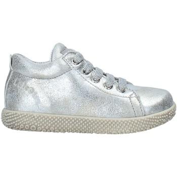 Cipők Gyerek Magas szárú edzőcipők Falcotto 2013561 04 Ezüst