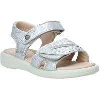 Cipők Lány Szandálok / Saruk Naturino 502731 01 Ezüst
