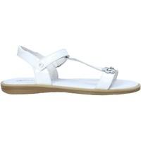 Cipők Lány Szandálok / Saruk Naturino 502393 01 Fehér