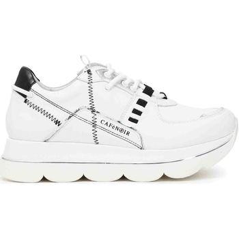 Cipők Női Rövid szárú edzőcipők Café Noir DB1330 Fehér