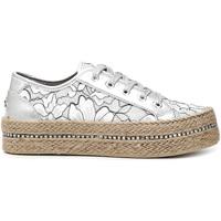 Cipők Női Rövid szárú edzőcipők Café Noir DG9520 Fehér