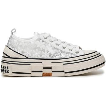 Cipők Női Rövid szárú edzőcipők Café Noir DM9020 Fehér
