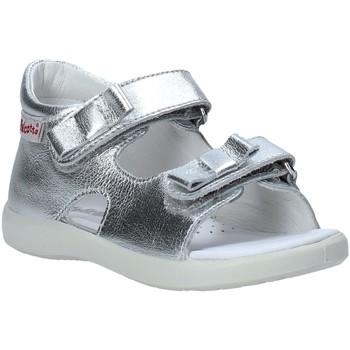 Cipők Lány Szandálok / Saruk Falcotto 1500771 02 Ezüst