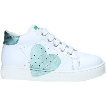 Cipők Lány Magas szárú edzőcipők Falcotto 2012816 07 Fehér