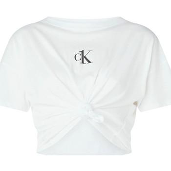 Ruhák Női Blúzok Calvin Klein Jeans KW0KW01366 Fehér