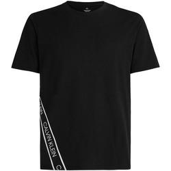 Ruhák Férfi Rövid ujjú pólók Calvin Klein Jeans 00GMS1K263 Fekete