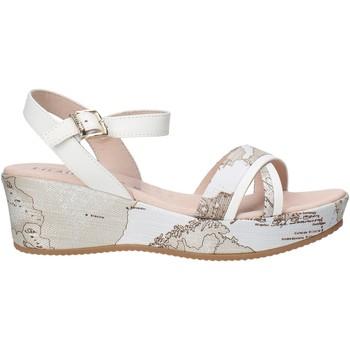 Cipők Lány Szandálok / Saruk Alviero Martini 0641 0910 Fehér