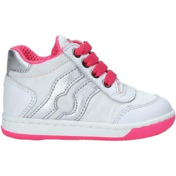 Cipők Lány Magas szárú edzőcipők Falcotto 2013553 03 Fehér
