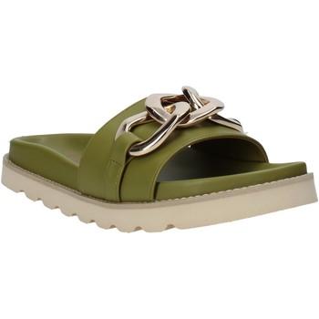 Cipők Női Papucsok Grace Shoes 021004 Zöld