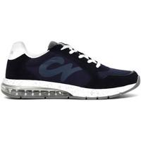Cipők Férfi Rövid szárú edzőcipők Café Noir MT9210 Kék