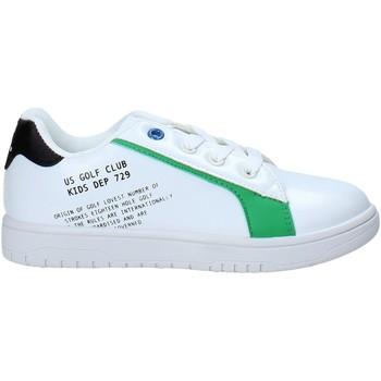 Cipők Gyerek Rövid szárú edzőcipők U.s. Golf S21-S00UK811 Fehér