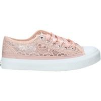 Cipők Lány Rövid szárú edzőcipők Miss Sixty S21-S00MS714 Rózsaszín