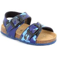 Cipők Gyerek Szandálok / Saruk Grunland SB0383 Kék