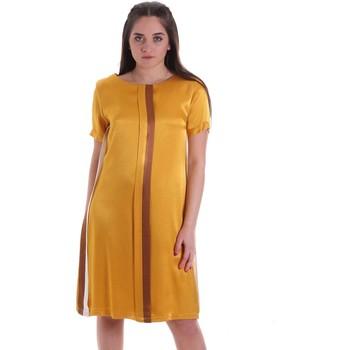Ruhák Női Rövid ruhák Café Noir JA6260 Sárga