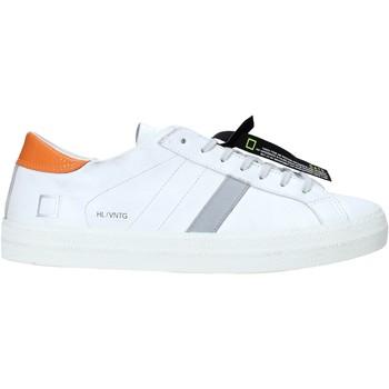 Cipők Férfi Rövid szárú edzőcipők Date M341-HL-VC-WQ Fehér