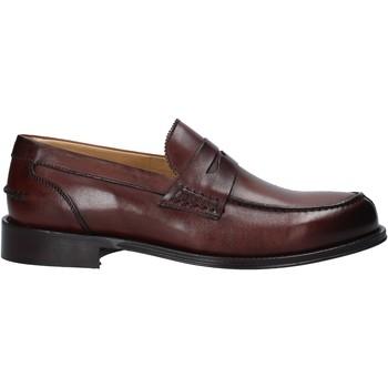 Cipők Férfi Mokkaszínek Exton 102 Barna