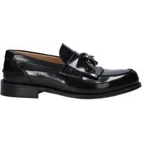 Cipők Férfi Mokkaszínek Exton 105 Fekete