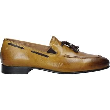 Cipők Férfi Mokkaszínek Exton 1026 Sárga