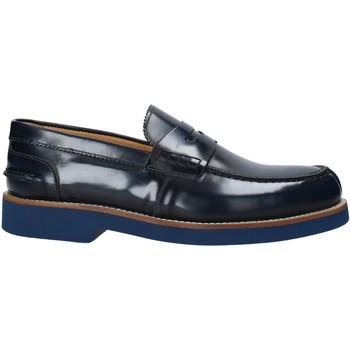 Cipők Férfi Mokkaszínek Exton 2102 Kék