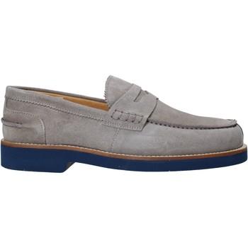 Cipők Férfi Mokkaszínek Exton 2102 Szürke