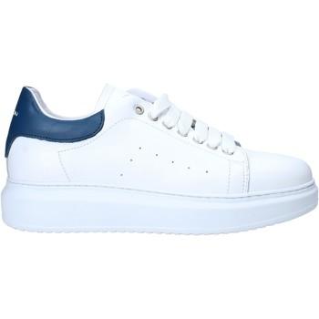 Cipők Férfi Rövid szárú edzőcipők Exton 955 Fehér