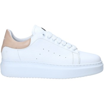 Cipők Női Rövid szárú edzőcipők Exton 1595 Fehér