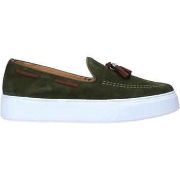 Cipők Férfi Mokkaszínek Exton 511 Zöld
