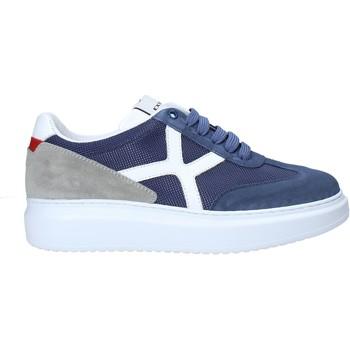 Cipők Férfi Rövid szárú edzőcipők Exton 951 Kék