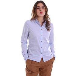 Ruhák Női Ingek / Blúzok Alessia Santi 011SD45049 Kék